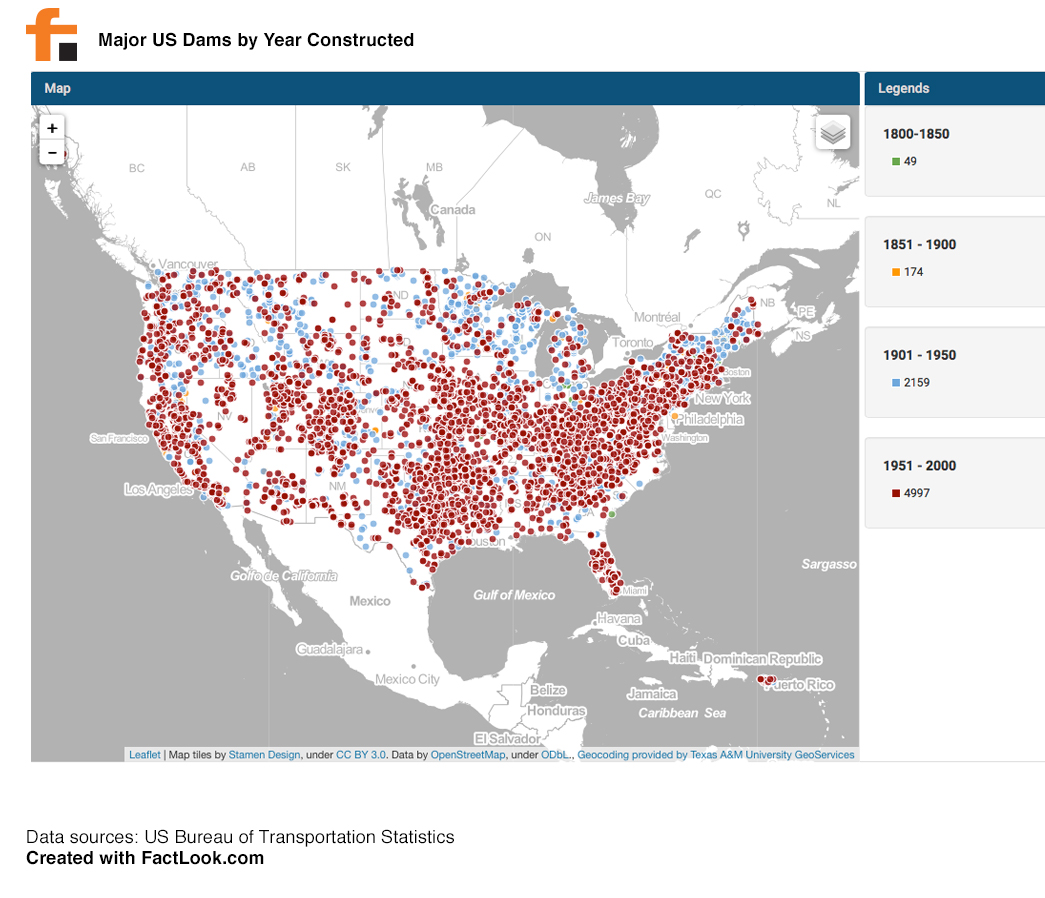 FactLook - Major US Dams